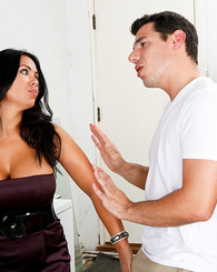 Busty latina Sienna West takes it deep