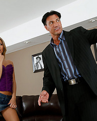 Natalia Rossi is fucks her real estate agent instead of buying a house.
