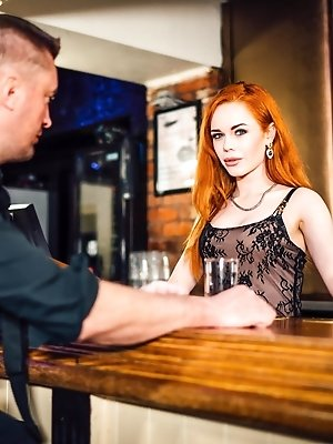 Gorgeous Redhaired Ella Hughes Shows Off
