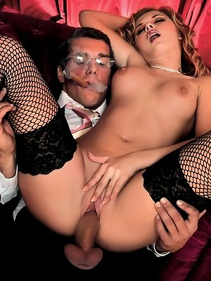 Classy Katerina enjoys the pleasures of sex
